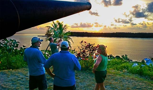 Vavau Sunset 4WD Tour with Champagne bora bora
