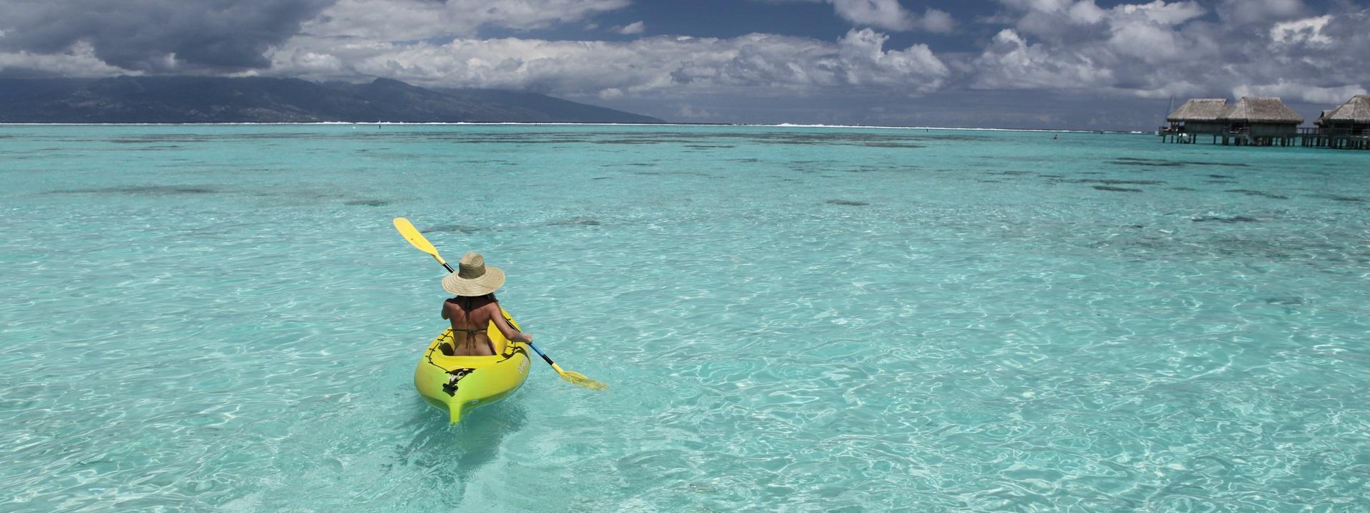Sofitel Moorea Ia Ora Free kayaks
