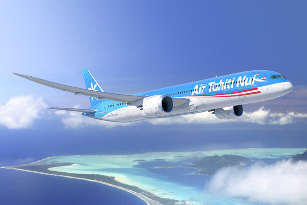 Air Tahiti Nui airplane